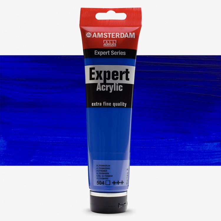 Talens : Amsterdam Expert Acrylic 150ml series 2 Ultramarine