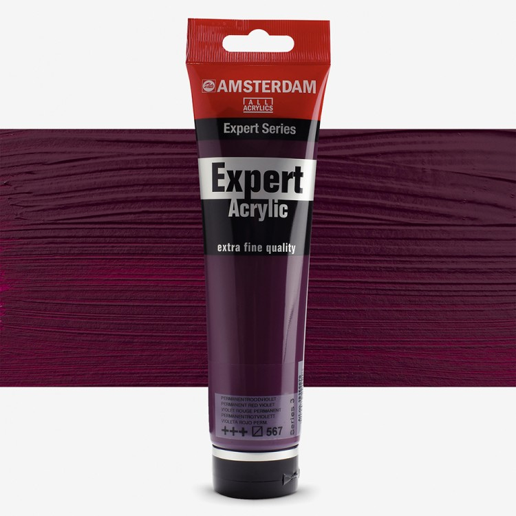 Talens : Amsterdam Expert : Acrylic Paint : 150ml : S3 : Permanent Red violet