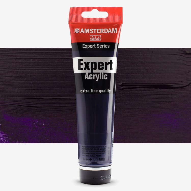 Royal Talens : Amsterdam Expert : Acrylic Paint : 150ml : S3 : Permanent Blue Violet