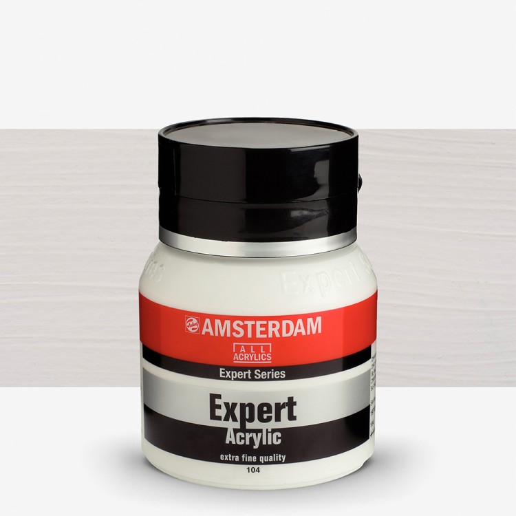 Talens : Amsterdam Expert : Acrylic Paint : 400ml : S1 : Zinc White