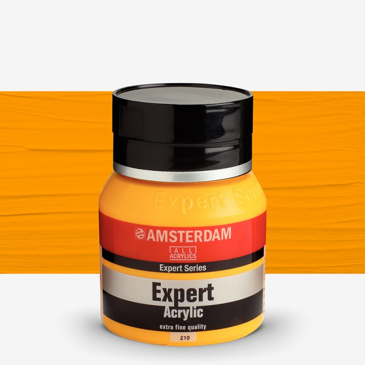 Talens : Amsterdam Expert : Acrylic Paint : 400ml : S4 : Cadmium Yellow Deep