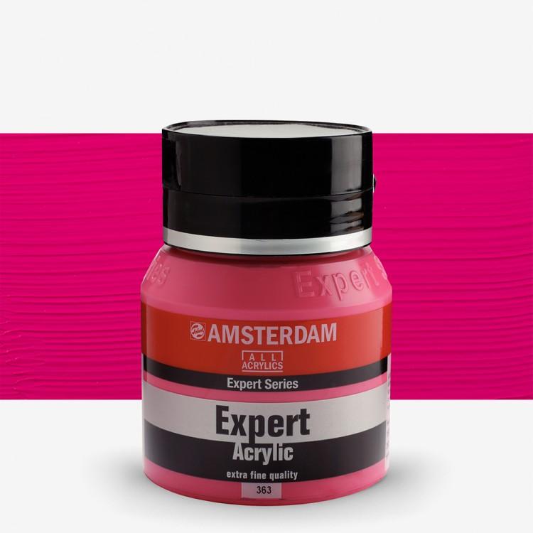 Talens : Amsterdam Expert 400ml S2 Quinacridone Rose Deep Opaque