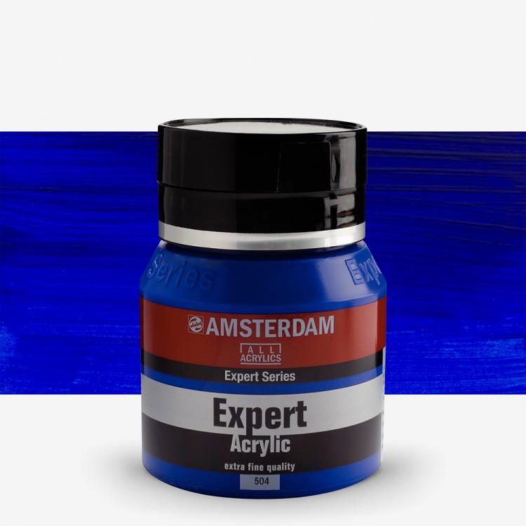 Talens : Amsterdam Expert : Acrylic Paint : 400ml : S2 : Ultramarine
