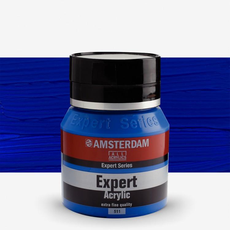 Talens : Amsterdam Expert : Acrylic Paint : 400ml : S4 : Cobalt Blue