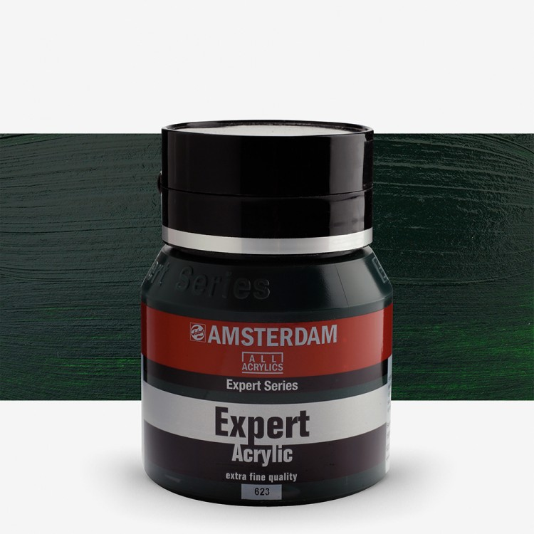Talens : Amsterdam Expert : Acrylic Paint : 400ml : S2 : Sap Green