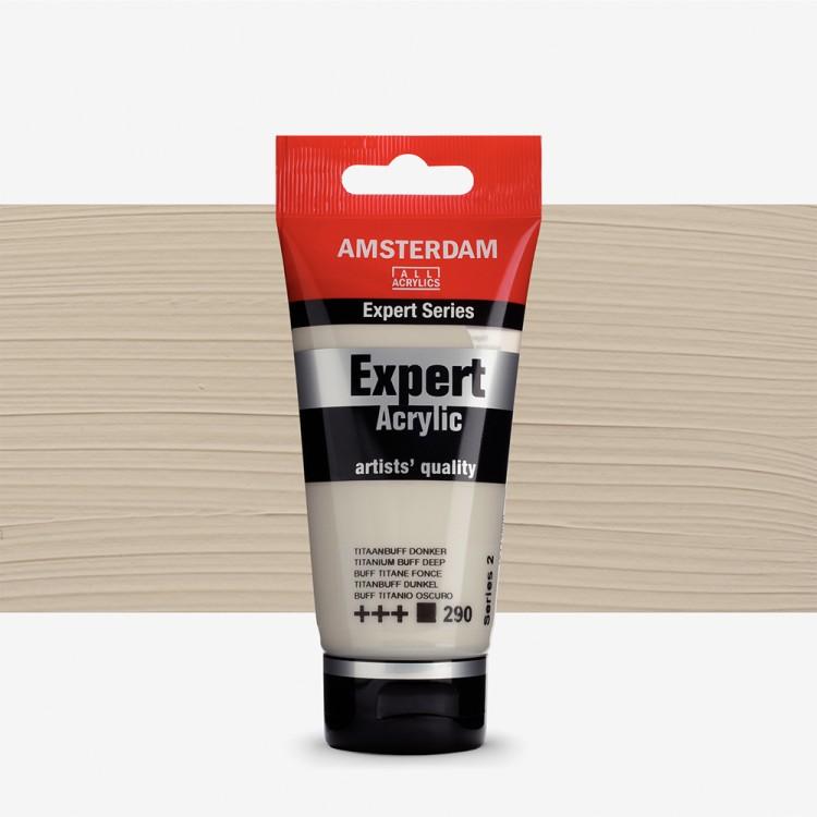 Talens : Amsterdam Expert Acrylic 75ml series 2 Titanium Buff Deep