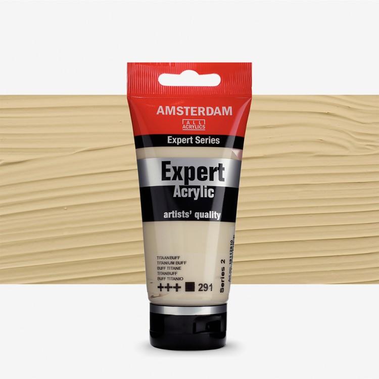 Talens : Amsterdam Expert Acrylic 75ml series 2 Titanium Buff