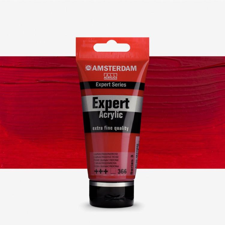 Talens : Amsterdam Expert Acrylic 75ml series 3 Quinacridone Rose