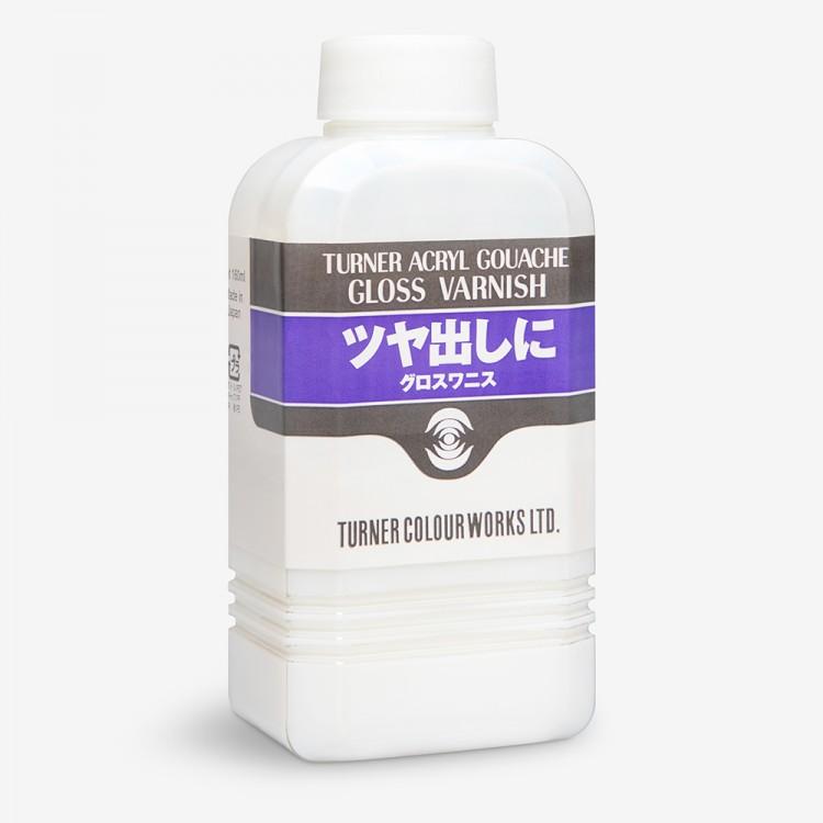 Turner : Acrylic Gouache : Gloss Varnish : 160ml