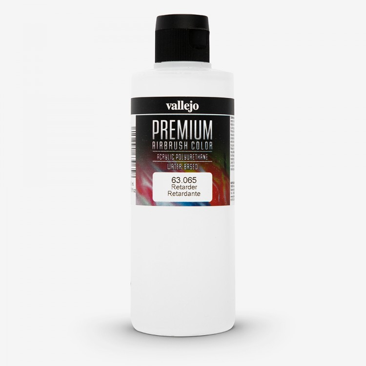 Vallejo : Premium Airbrush Paint : 200ml : Retarder To Slow Drying