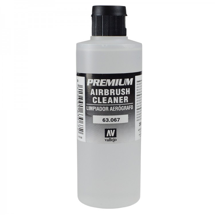 Vallejo : Premium Airbrush Paint : 200ml : Cleaner
