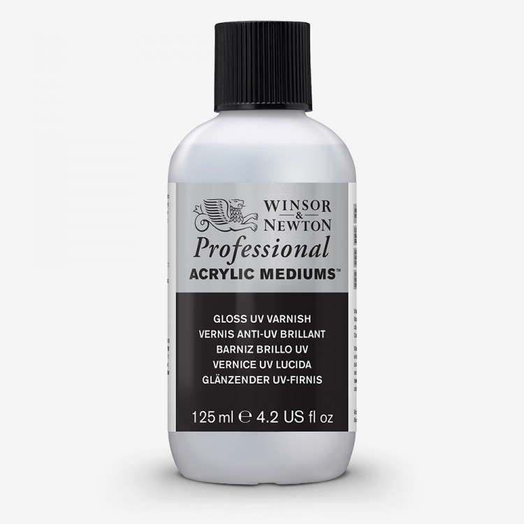 Winsor & Newton : Professional Acrylic : Gloss UV Varnish : 125ml