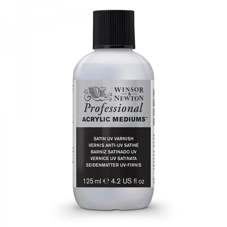 Winsor & Newton : Professional Acrylic : Satin UV Varnish : 125ml
