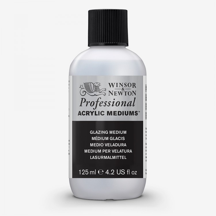 Winsor & Newton : Professional : Acrylic Medium : Glazing Medium : 125ml