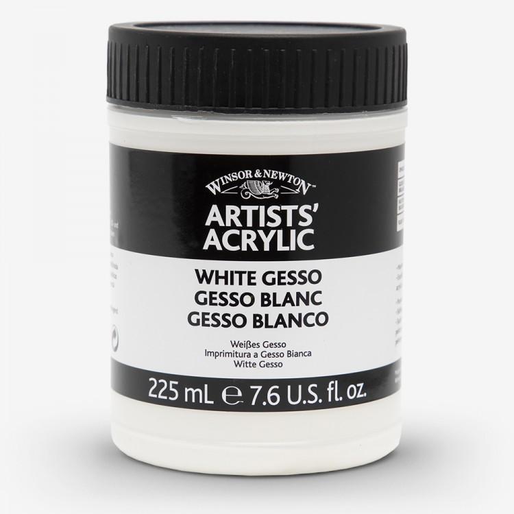 Winsor & Newton : Professional Acrylic : White Gesso Primer : 225ml