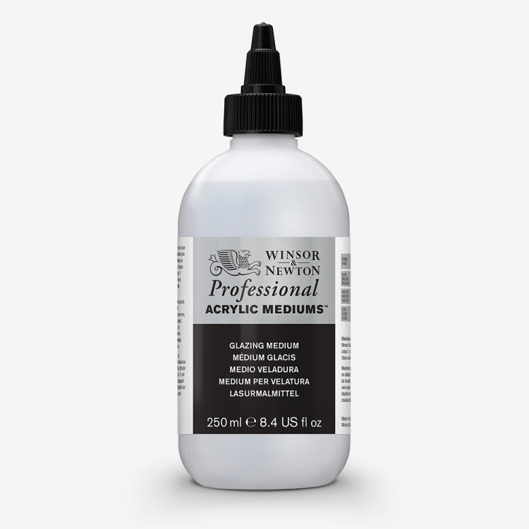 Winsor & Newton : Professional Acrylic : Glazing Medium : 250ml