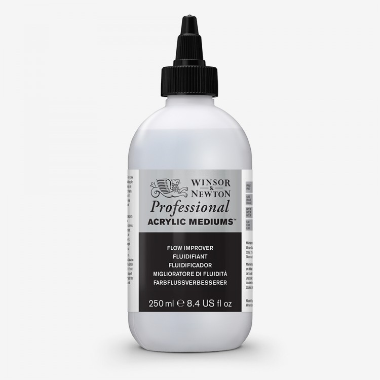 Winsor & Newton : Professional (Formally Artist) Acrylic : Flow Improver : 250ml