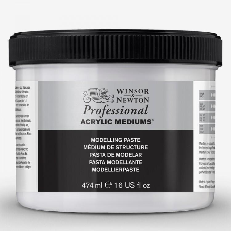 Winsor & Newton : Professional Acrylic : Modelling Paste : 474ml