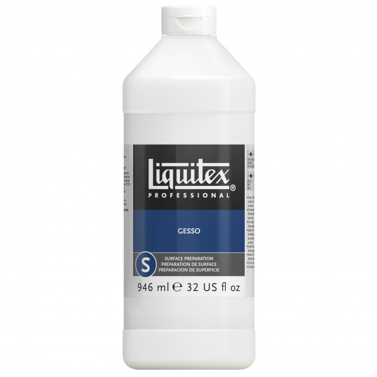 Liquitex : Professional : Clear Gesso Primer : 946ml