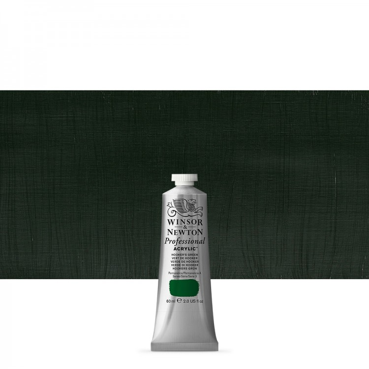 Winsor & Newton : Professional Acrylic Paint : 60ml : Hookers Green