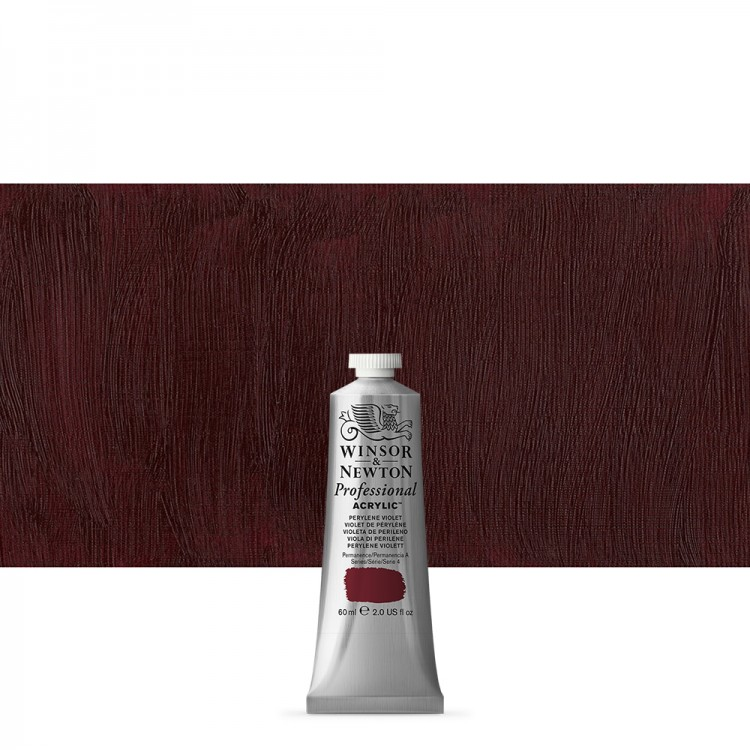 Winsor & Newton : Professional Acrylic Paint : 60ml : Perylene Violet