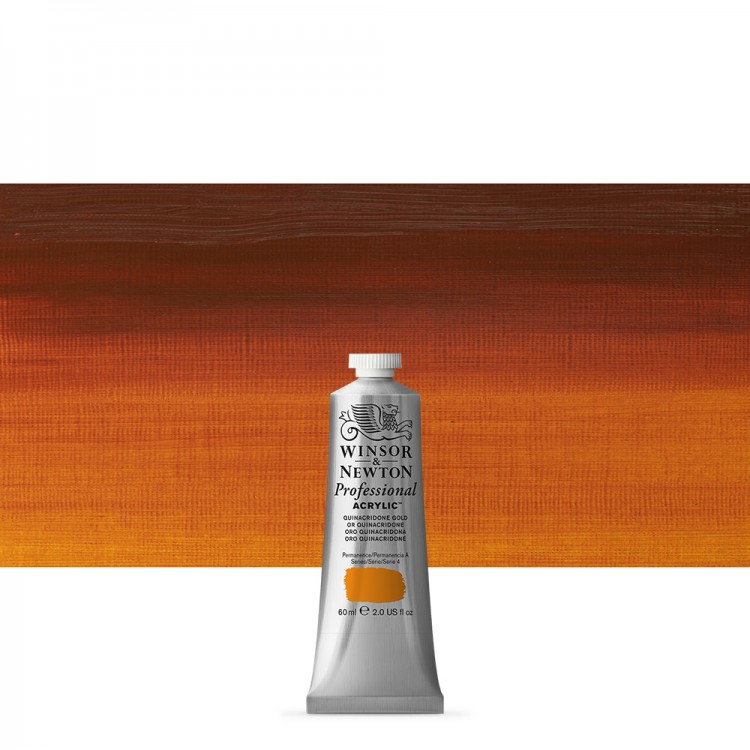 Winsor & Newton : Professional Acrylic Paint : 60ml : Quinac Gold