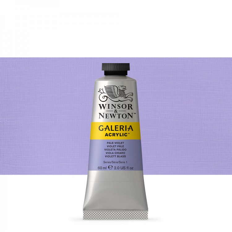 W&N : Galeria : Acrylic Paint : 60ml : Pale Violet