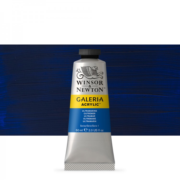 W&N : Galeria : Acrylic Paint : 60ml : Ultramarine