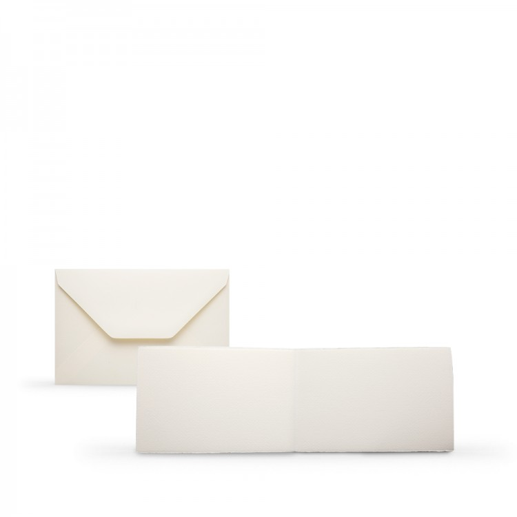 Fabriano : Medioevalis : 10 Blank Cards & Envelopes : 11.5x17cm : Landscape