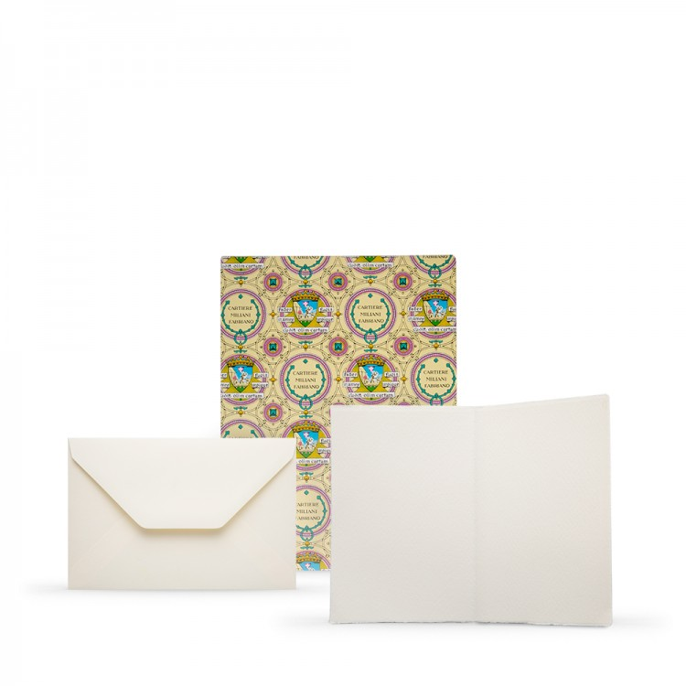 Fabriano : Medioevalis : 100 Blank Cards & Envelopes : 11.5x17cm : Portrait