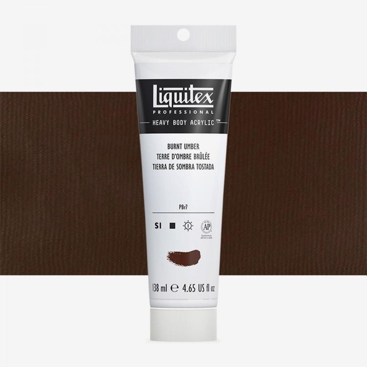 Liquitex : Professional : Heavy Body Acrylic Paint : 138ml : Burnt Umber