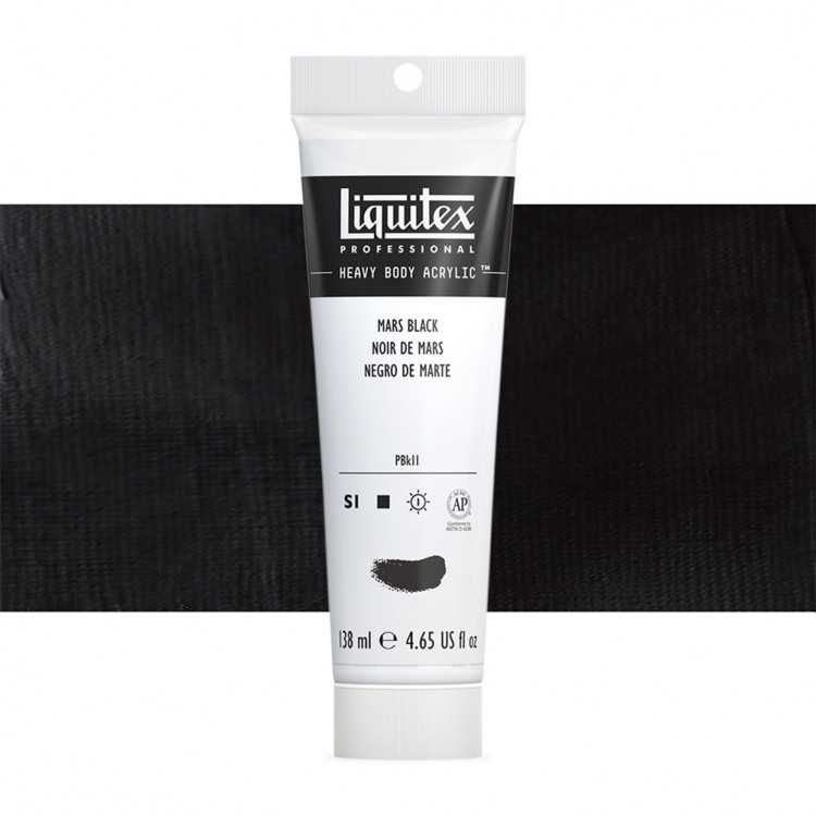 Liquitex : Professional : Heavy Body Acrylic Paint : 138ml : Mars Black