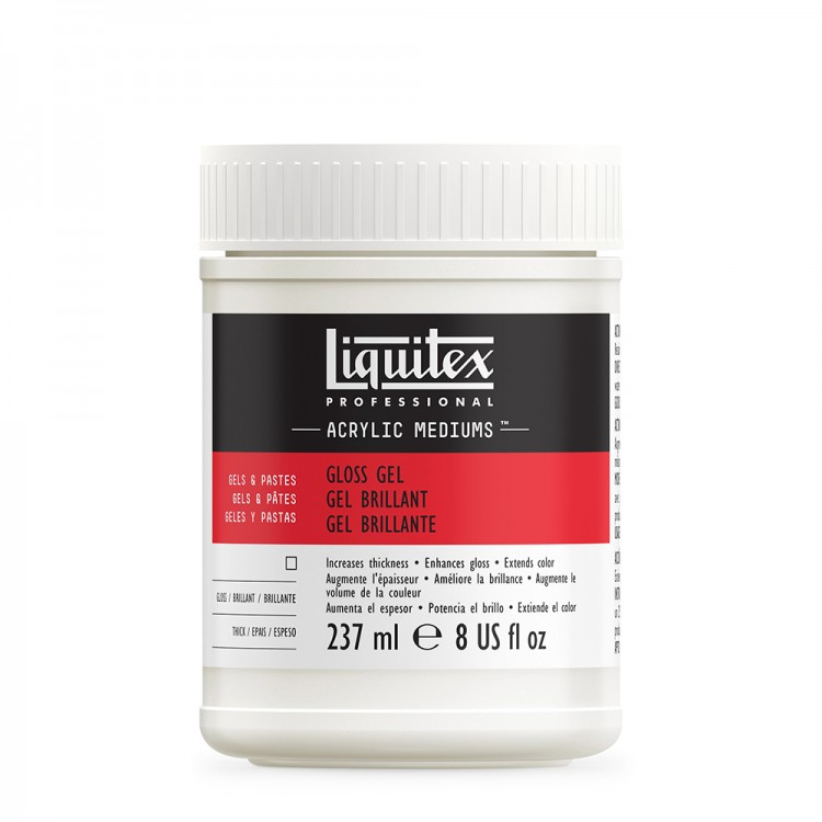 Liquitex : Professional : Gloss Gel : 237ml Jr 5708