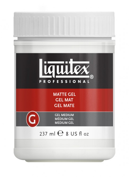 Liquitex : Professional : Matt Medium Gel : 237ml
