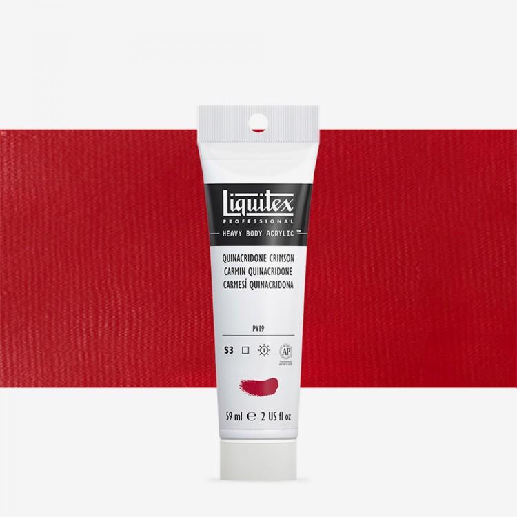 Liquitex : Professional : Heavy Body Acrylic Paint : 59ml : Quinacridone Crimson