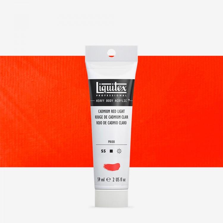 Liquitex : Professional : Heavy Body Acrylic Paint : 59ml : Cadmium Red Light