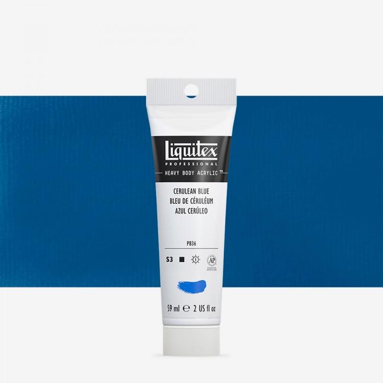 Liquitex : Professional : Heavy Body Acrylic Paint : 59ml : Cerulean Blue