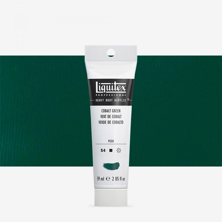 Liquitex : Professional : Heavy Body Acrylic Paint : 59ml : Cobalt Green