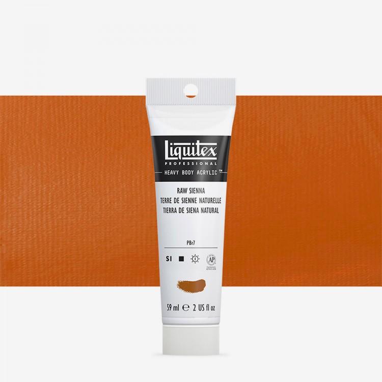 Liquitex : Professional : Heavy Body Acrylic Paint : 59ml : Raw Sienna