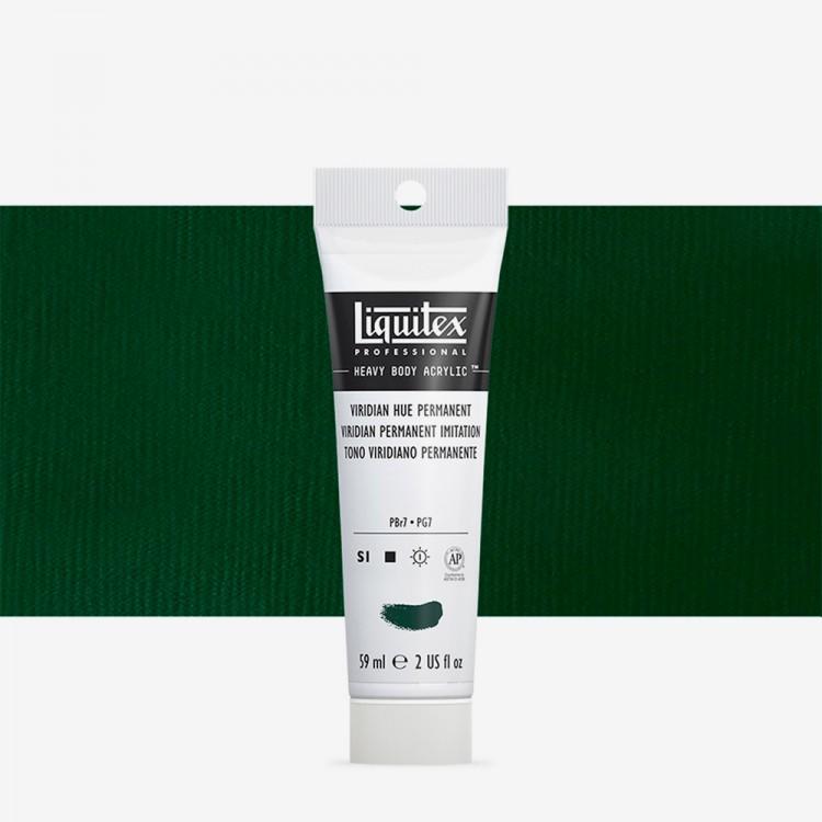 Liquitex : Professional : Heavy Body Acrylic Paint : 59ml : Viridian Hue