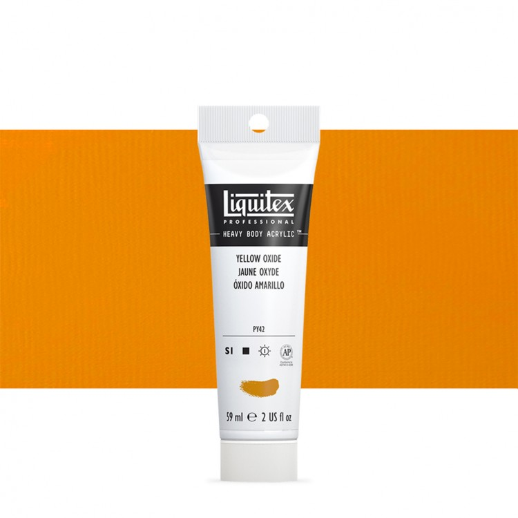 Liquitex : Professional : Heavy Body Acrylic Paint : 59ml : Yellow Oxide