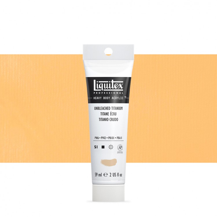 Liquitex : Professional : Heavy Body Acrylic Paint : 59ml : Unbleached Titanium