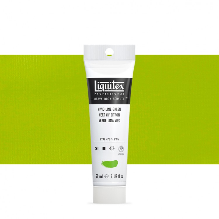 Liquitex : Professional : Heavy Body Acrylic Paint : 59ml : Vivid Lime Green