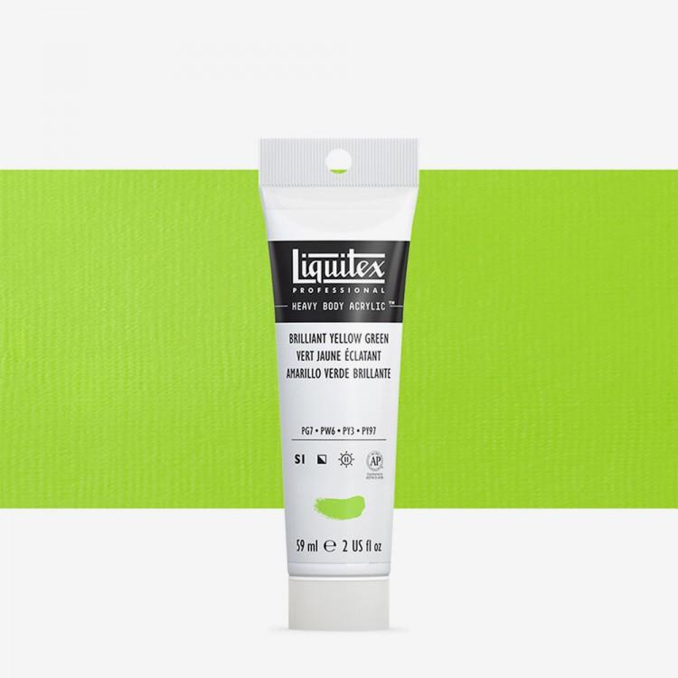 Liquitex : Professional : Heavy Body Acrylic Paint : 59ml : Brilliant Yellow Green