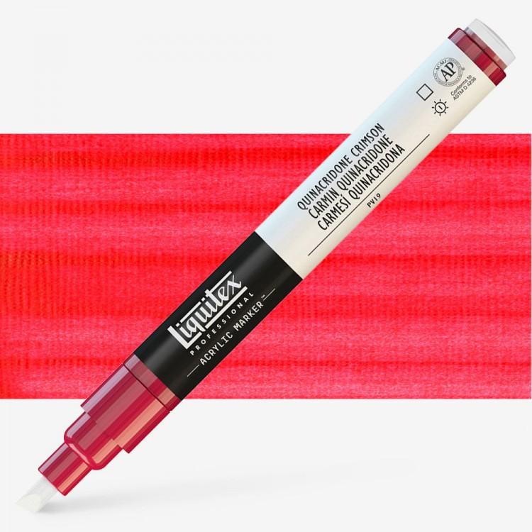 Liquitex : Professional : Marker : 2mm Fine Nib : Quinacridone Crimson