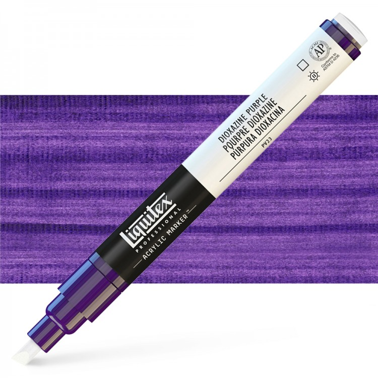 Liquitex : Professional : Marker : 2mm Fine Nib : Dioxide Purple