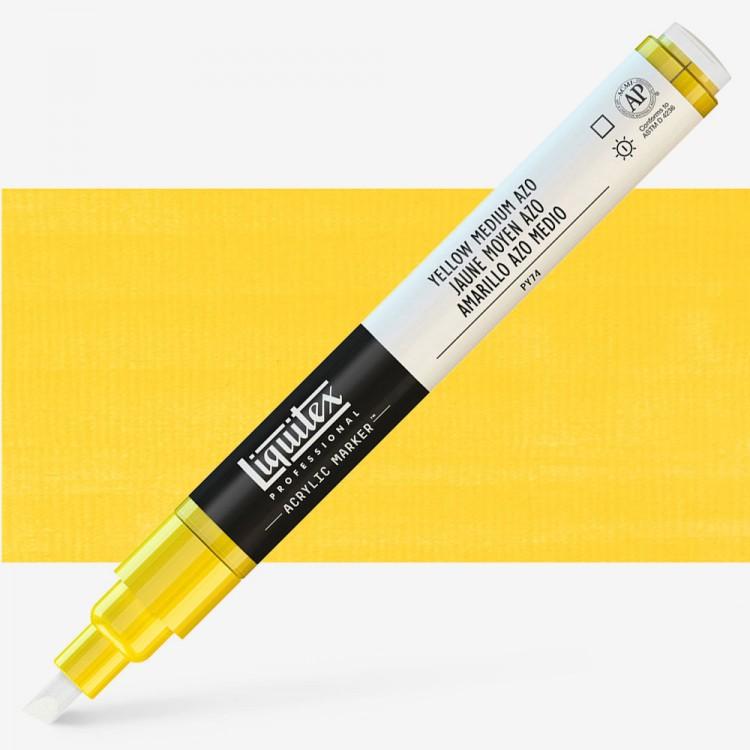 Liquitex : Professional : Marker : 2mm Fine Nib : Yellow Medium Azo