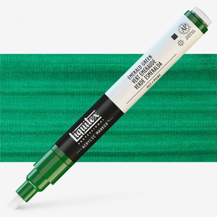 Liquitex : Professional : Marker : 2mm Fine Nib : Emerald Green