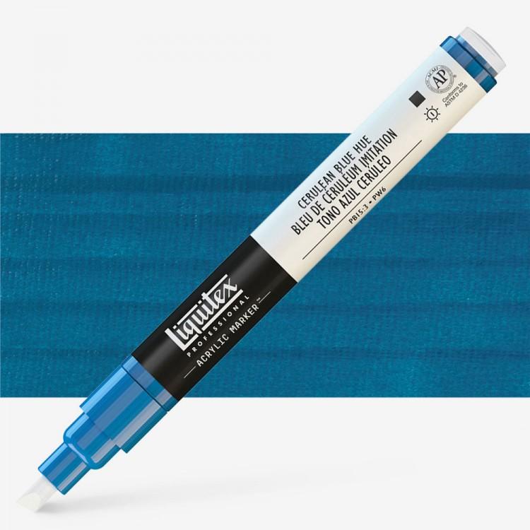 Liquitex : Professional : Marker : 2mm Fine Nib : Cerulean Blue Hue