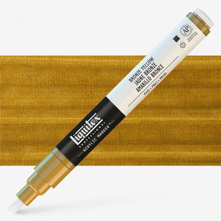Liquitex : Professional : Marker : 2Mm Fine Nib : Bronze Yellow